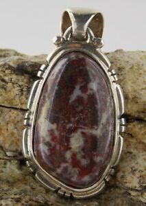 Hand Made Campbellite - Sterling Silver Pendant - Arizona 22421