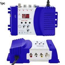US 1pc TV AV To RF Professional Modulator Adapter Digital Home Accessory Coax