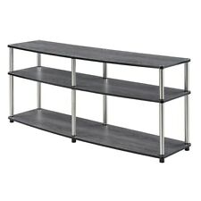"""Convenience Concepts Designs2Go 3 Tier 60"""" TV Stand, Weathered Gray - 131060WGY"""