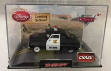 DISNEY STORE DIECAST CAR ~ SHERIFF ~  CHASE CAR ~ NEW IN ORIGINAL ACRYLIC CASE