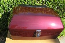 Dark Red HD Pack Harley Tour For ROAD KING Fat boy motorcycle trunk for Suzuki