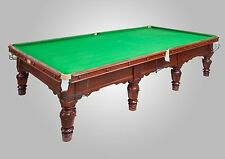 Full Size Antique Snooker Table by Ashcrofts of Liverpool