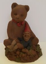 Tom Clark 1984 Gnome Ben Vintage Bear Statue Retired Collectible #79