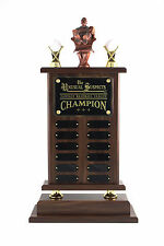 FANTASY BASEBALL TROPHY! 12 YEAR WITH ARMCHAIR PITCHER! FREE ENGRAVING!