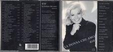 GIOVANNA  raro doppio CD fuori catalogo LA DONNA CHE AMO