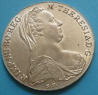 1 Tallero di Maria Teresa Occupazione Austriaca 1780 - Argento - Rara -- nr. 744
