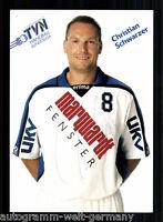 Christian Schwarzer TV Niederwürzbach TOP AK Original Signiert  Handball +A50977