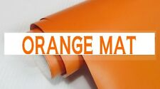 FILM ADHESIF VINYLE ORANGE MAT 152 x 300 cm