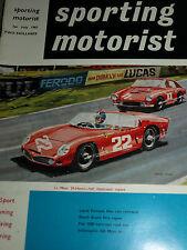 LE MANS 24 HEURES 1961 FERRARI 330 PHIL HILL OLIVIER GENDEBIEN NURBURGRING 1000K