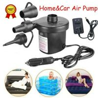 Electric Air Pump Power Inflator Blower For Car Boat Paddling Pool Bed Mattress