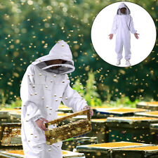 Beekeeping Protective Equipment Veil Bee Keeping FULL BODY Suit Hat Smock XXXL