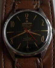 "VINTAGE ""ATLANTIC""-WORLDMASTER- 21J-SWISS WRIST WATCH MEN,S"