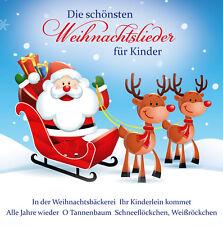 Die schönsten Weihnachtslieder für Kinder - 2 CD NEU OVP