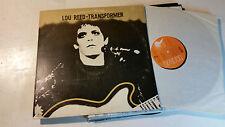 LOU REED Transformer 1972 LP lsp4807 original vinyl VU velvet underground rare!