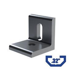 10 Pc Cb322h1s Aluminum 2 Hole Inside Corner Bracket 4295 15 Series Extrusion