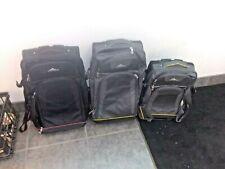 L👀K Set of 3 High Sierra Adventure Access Wheeled Luggage Softside