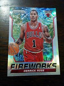 2014-15 Panini Prizm Fireworks Derrick Rose #13 Bulls