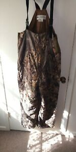 Columbia Camo Fall Flight Quilted Insulated Hunting Bib-Large L