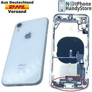 Original Rahmen Für iPhone XR Backcover Antenne Flex + Vormontiert Weiß