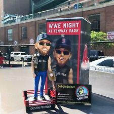 "DUSTIN PEDROIA ""WWE Night"" Boston Red Sox ""Special Ticket"" Bobble Head*"