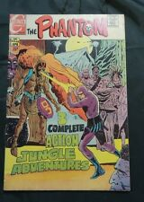 THE PHANTOM Vol.4  #43 1971-CHARLTON COMICS-WITCH DOCTOR FN