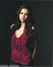 Nina Dobrev Vampire Diaries Autographed Signed 8x10 Photo COA C