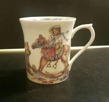 More details for vintage queens china mug-colour box of teddies no:12-excellent condition