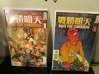 Fight For Tomorrow 3-4 (2002-2003) Vertigo Comics BAGGED BOARDED~