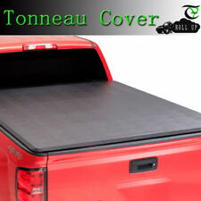 """2007-2018 Toyota Tundra 6.5FT/78"""" Inch Short Bed Roll Up Lock Soft Tonneau Cover"""