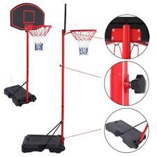Basketball Hoop Adjustable Backboard Rim System Portable In/Outdoor Garden 7.2Ft