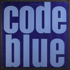CODE BLUE: Code Blue LP (promo-only mini-LP, blue vinyl, minor cover wear)