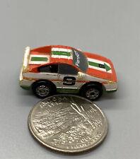 Micro Machines Pontiac Fiero GT #9 White/Red/Green, 1987 Galoob