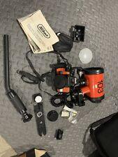 Nikon Nikonos Sb-103 Underwater Strobe Flash for Nikon With Accessories