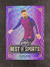 Lionel Messi 2019 Leaf Best of Sports Purple Wave Refractor #2/15 SSP M-09
