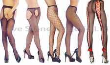 Fishnet Hosiery & Socks Women's Suspender Tights footed