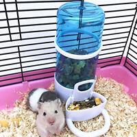 LD_ KQ_ Automatic Pet Bird Hamster Feeder Cage Water Dispenser Drinker Feeding