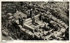 Durham. Air View of Cathedral & River Wear # 13977 by Aerofilms.