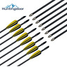 Fiberglass Arrows Archery Nocks Target Practice for Bow Children Kid Hunting Bow