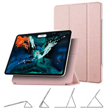 For iPad Pro 12.9 Inch 3rd Gen 2018 Magnetic Smart Multi-Angle Case Cover Stand