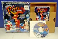 Rudolph Red-Nosed Reindeer Magical Sleigh Ride Wizard Works MAC PC Box Game Rare