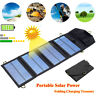 5V 5W/7W Portable USB Solar Panel Charger Power Bank For iPhone Samsang Outdoor