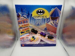 McDonald's 1991 Batman Happy Meal Display DC Comics MINT NEVER DISPLAYED!