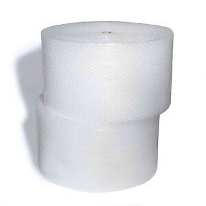 2x 500mm (W) x 100M (L) Bubble wrap roll Clear 10mm Bubbles P10 +1x Clear Tape
