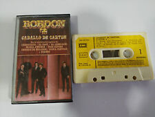 BORDON 4 CABALLO DE CARTON - CASSETTE TAPE CINTA EMI 1986 PAPER LABELS EL FARY