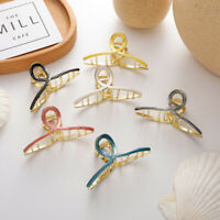 Women Oil Drop Alloy Small Hair Claws Sweet Hair Holder Clips Barrettes Hairpins