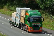 Truck Photo 12x8 - Iveco Stralis - Harlow Timber - LR17 WTU