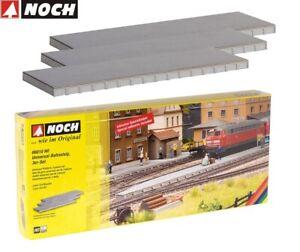 NOCH H0 66010 Universal-Bahnsteig (3 Stück) - NEU + OVP