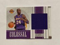 "Kobe Bryant, 2009-10 National Treasures, Colossal, ""Game Worn"" Swatch, 39/99"