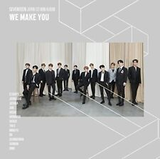 SEVENTEEN Japan 1st Mini Album [WE MAKE YOU] (CD) Regular Edition F/S w/Track#