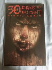 30 Days of Night: Night, Again by Joe R. Lansdale (2011, Paperback)